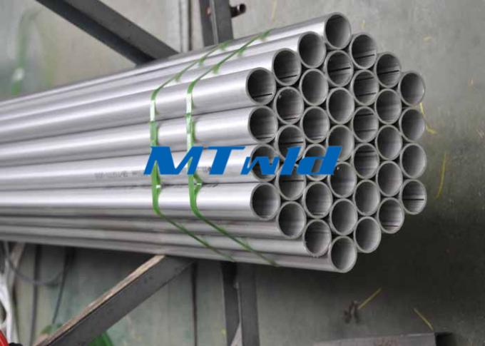 TP 321 / 321H Stainless Steel Welded Tube Precision With Pickling Surface