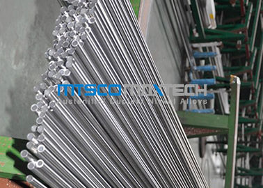 চীন 24 SWG 1 / 2 Inch Hydraulic Tube TP304 / 304L Stainless Steel Seamless Pipe কারখানা