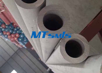 চীন DN150 Stainless Steel Seamless Pipe S34700 / S34709 Industrial Welding Round Tube কারখানা