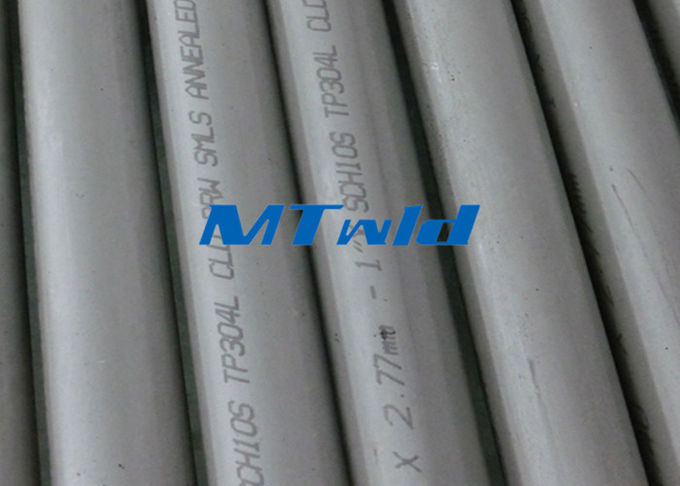 30Inch Sch10s Big Size Double welding stainless steel tubing For Oil And Fuild , ASTM A358